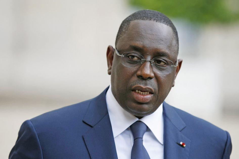 Le président sénégalais Macky Sall. Crédits photo : sources