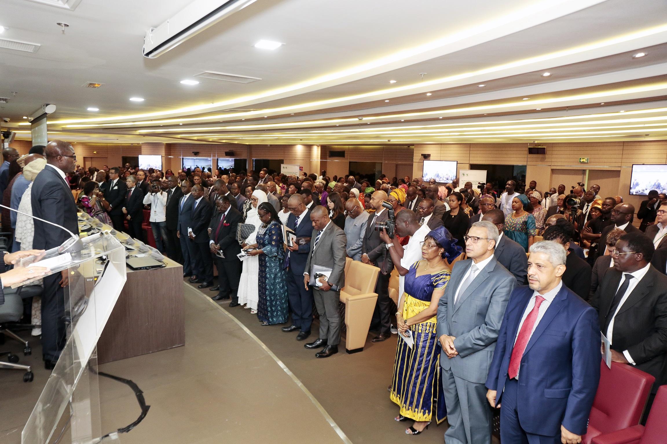 Intense émotion à la cérémonie de la BAD en hommage à feu Babacar Ndiaye, son ancien président