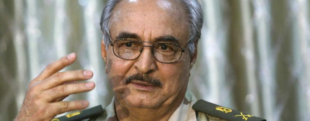 Le Maréchal libyen Haftar. Crédits photo: sources