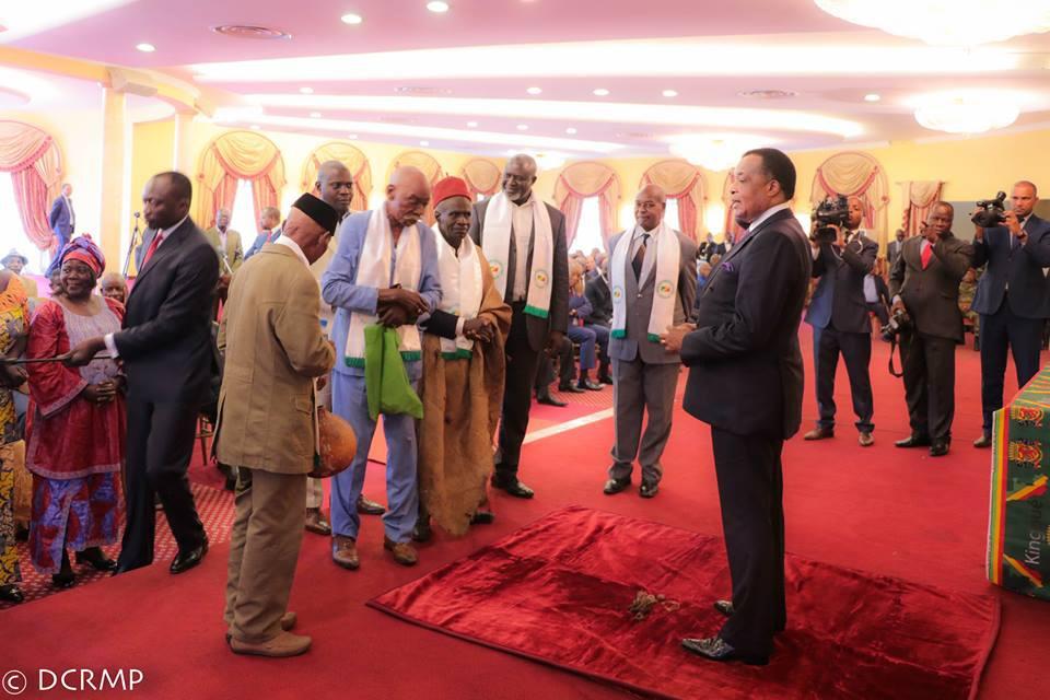 Denis Sassou N'Guesso et les sages du Pool