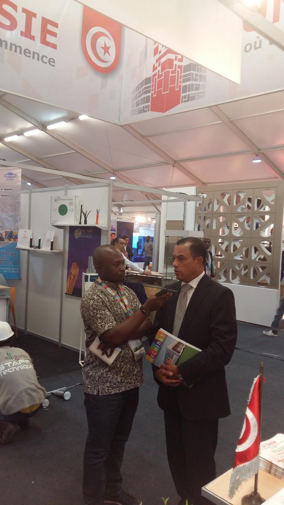 Côte d'Ivoire / Archibat 2017 : Première participation nationale de la Tunisie