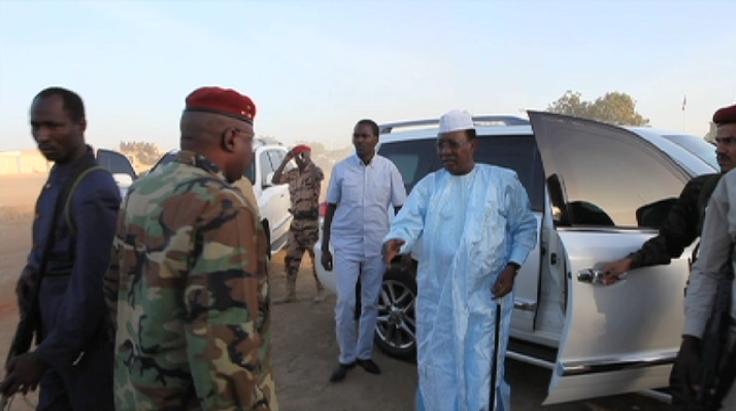 Idriss Deby à Amdjarass pour s'assurer de la situation sécuritaire
