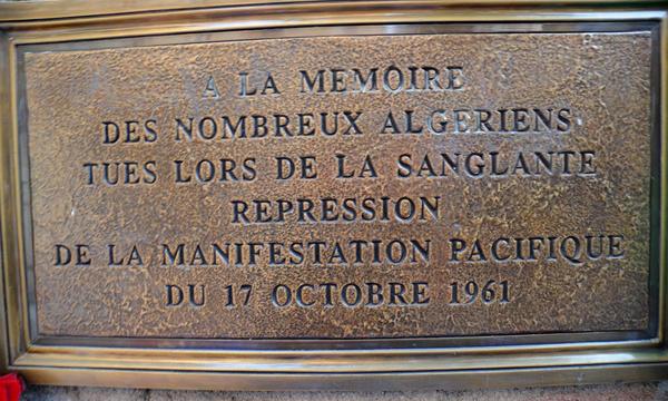 17octobre 1961 – Crime d'État : Pour une loi mémorielle