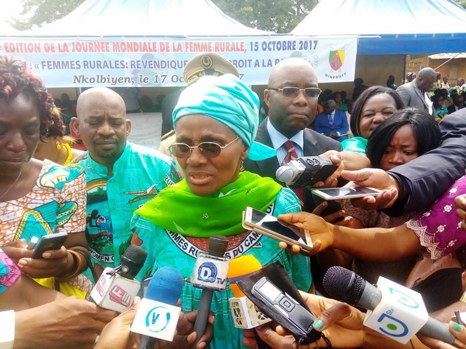 Cameroun:A Nkolbiyen, les femmes rurales s'engagent pour la paix!