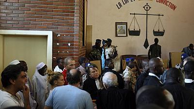 Une salle d'audience au tribunal. Crédits : sources
