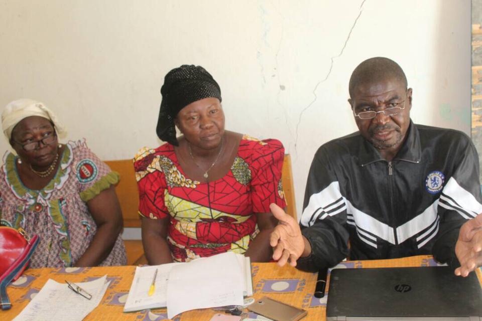 Le délégué principal de la cellule syndicale des agents de l'ONDR/PNSA, Bagao Ndikwe Badinga. Alwihda Info