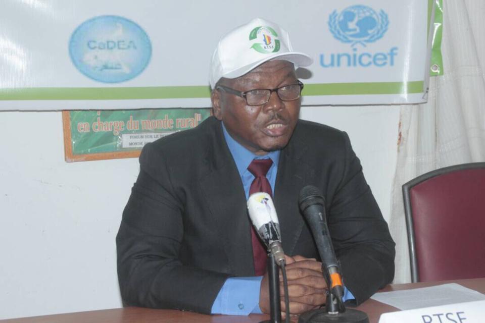 Le président de Réseau Tchadien de Suivi-Évaluation (RTSE), Mahamat Djimé Dreni-Mi. Alwihda Info