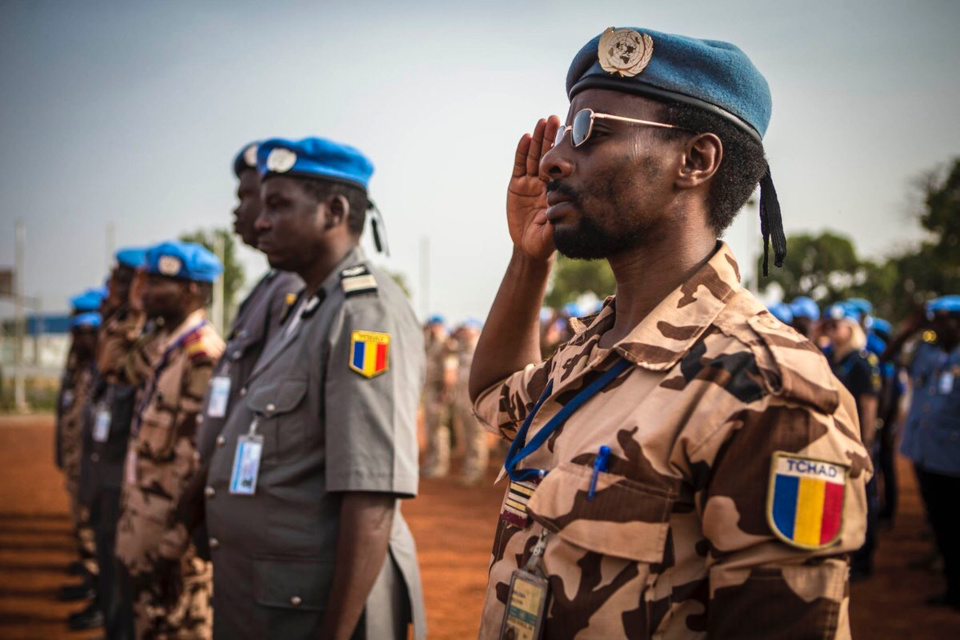 Adjudant Ndonodj, sergent Nadjibaye, soldat Abdoulaye, trois militaires tchadiens morts pour la paix