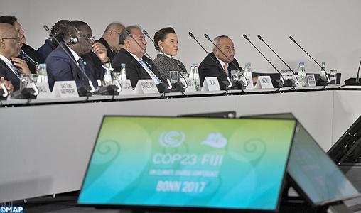 Présence notable de la Princesse Lalla Hasna à la cérémonie d'ouverture du segment de haut niveau de la COP23