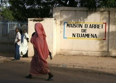 La maison d'arrêt de N'Djamena. Crédits photo : sources