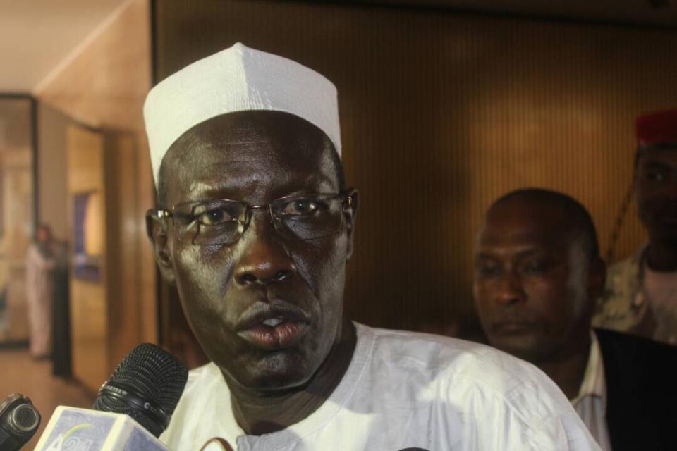 Le Ministre de la Justice et des Droits de l'Homme, Ahmat Mahamat Hassan. Alwihda info