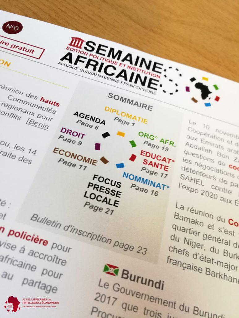 Le Tchad était au rendez-vous des 2ème Assises Africaines de l'Intelligence Economique à Casablanca
