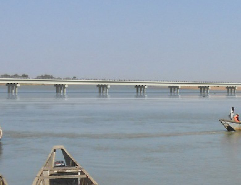 Un pont reliant le Tchad au Cameroun. Crédits photo : sources