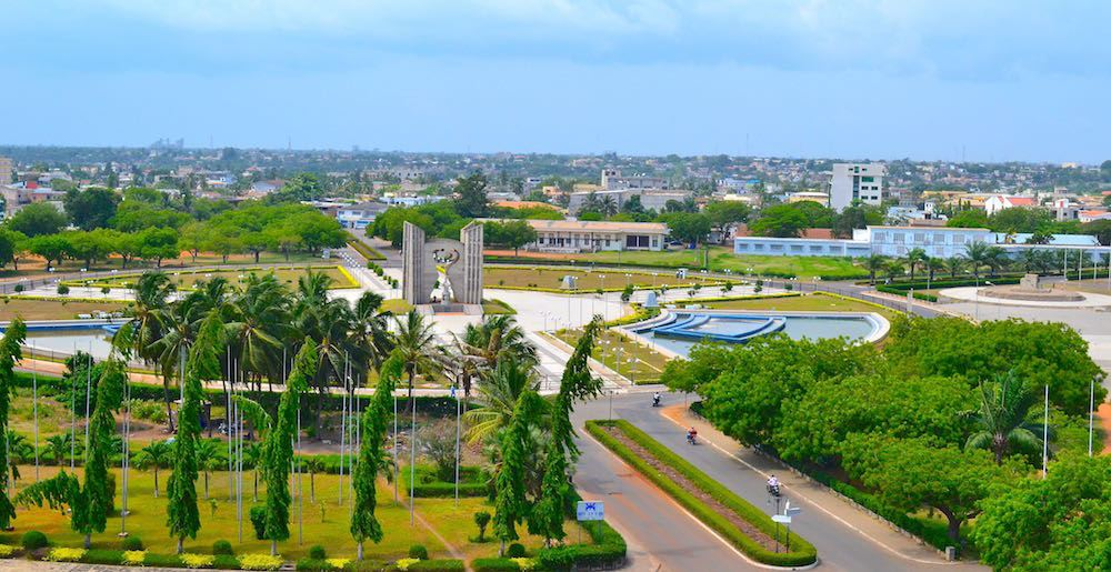 Ville de Lomé. Crédits photo : sources