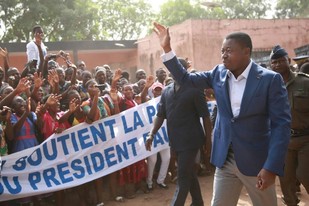 Togo : Le chef de l'Etat à Atakpamé