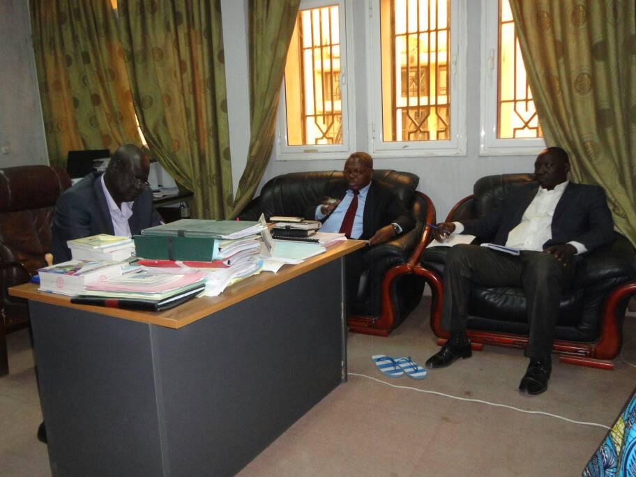 Le RTSE satisfait de la visite de plaidoyer en faveur de la culture de l'évaluation au Tchad