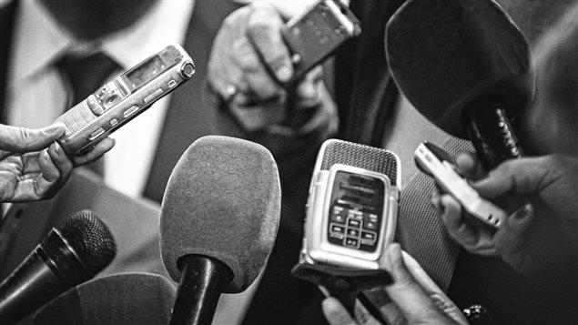 Illustration. Des micros et enregistreuses de journalistes. Crédits photo : sources