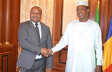 Le président congolais demande l'appui du Tchad pour la candidature de Francine Muyumba à l'UPJ