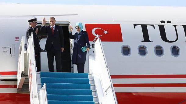 Arrivée d'Erdogan au Soudan. Crédits photo : sources
