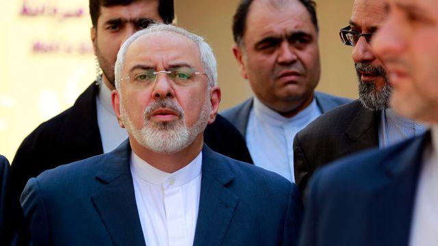 Le ministre iranien des Affaires étrangères Mohammad Javad Zarif le 27 juillet 2015 à Najaf. crédits photo : Sources