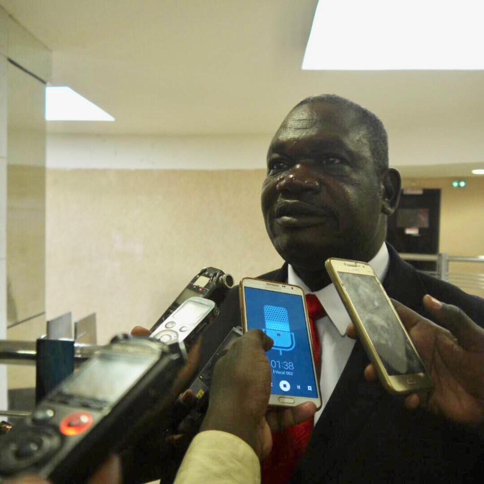 Barka Michel de l'Union des syndicats du Tchad. Alwihda Info