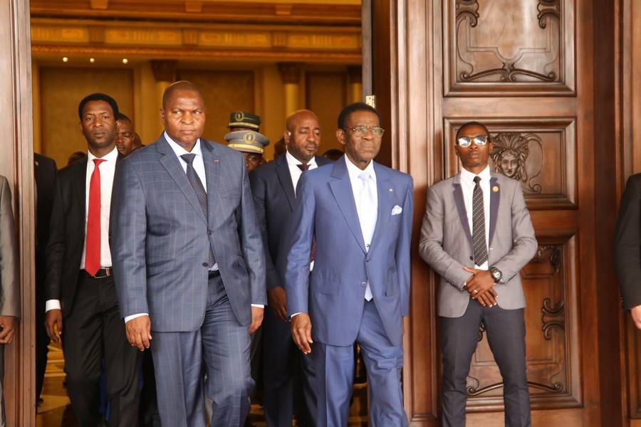 Guinée Equatoriale : Touadera renoue avec ses balades touristiques