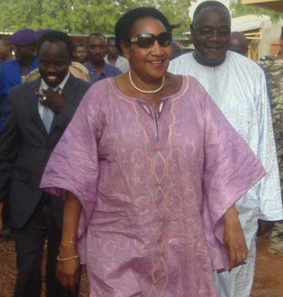 Mme Marie Thérèse Mbailemdana ex-maire de N'djamena. Crédits photo : sources