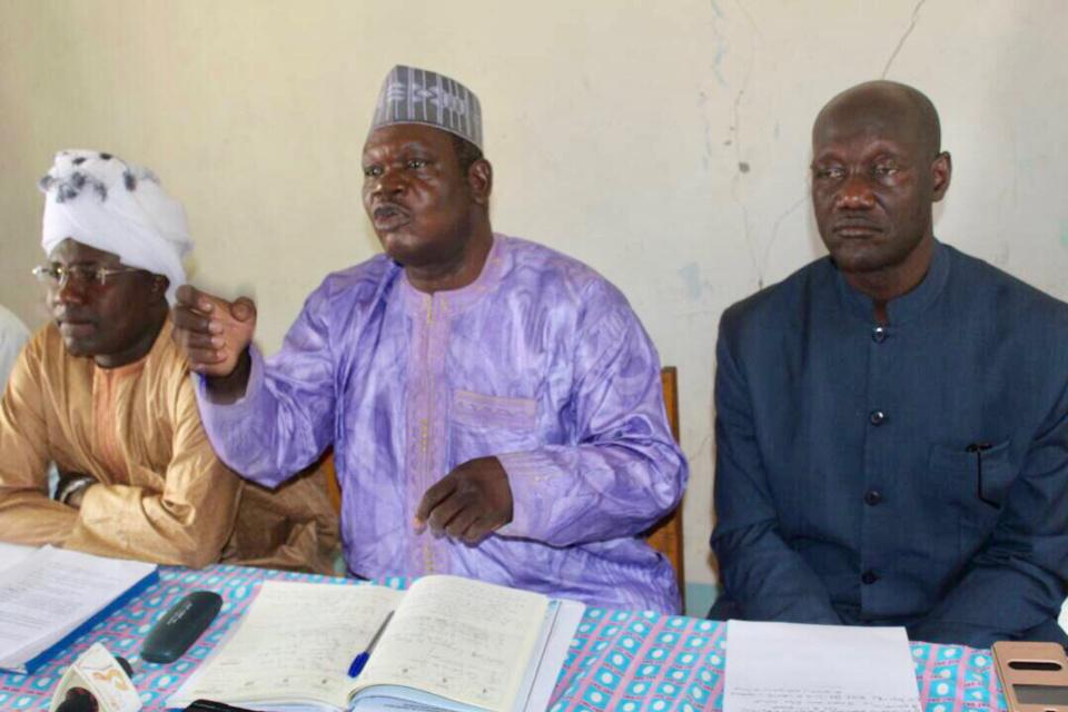La plateforme syndicale composée de l'Union des Syndicats du Tchad (UST), de la Confédération Indépendante des Syndicats du Tchad (CIST) et, du Syndicat National des Enseignants et Chercheurs du Supérieur (SYNEC). Alwihda Info