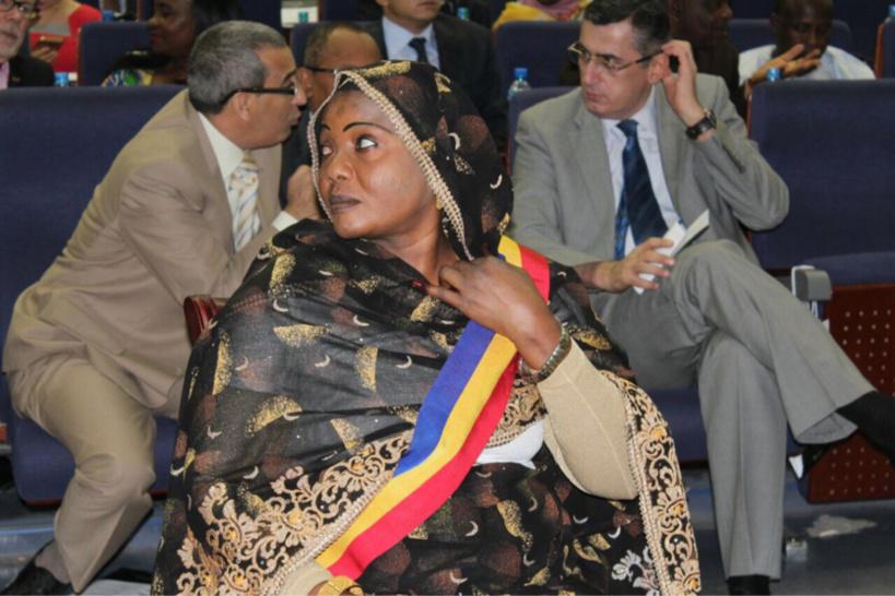 Tchad : Mariam Djimet Ibet, maire de la capitale N'Djamena. Alwihda Info