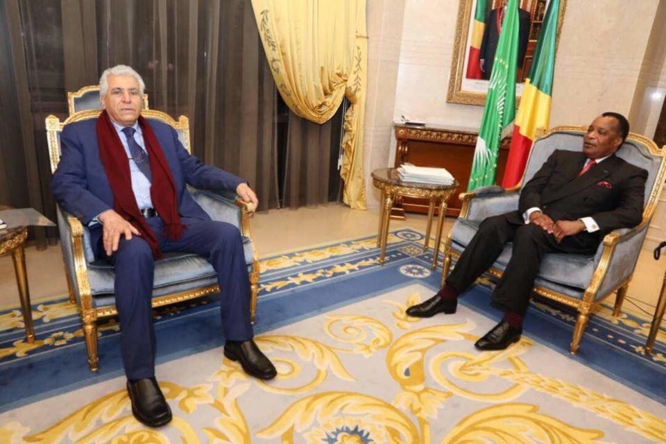 Dossier libyen  : Ageli Abdoussalam Brani salue l'engagement  de Denis Sassou N'Guesso
