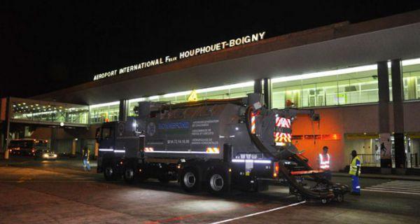 L'aéroport international d'Abidjan. Crédits photo : DR