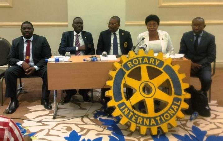 Illustration. conférence de presse du Rotary Club International à N'Djamena en mai 2017. Crédits photo : lepaystchad.com