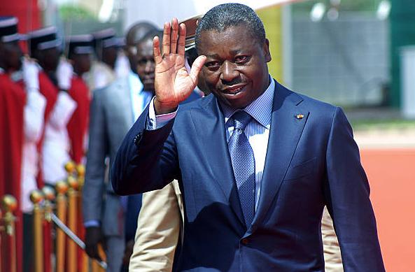 Le chef de l'Etat togolais Faure Gnassingbé. Crédits photo : DR
