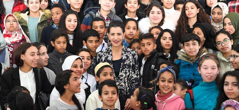 La Princesse Royale Lalla Meryiem du Maroc défenseur des droits de la femme et de l'enfant