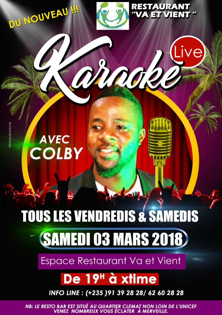 "Tchad: ""Va et Vient"", un restaurant non loin de l'aéroport"