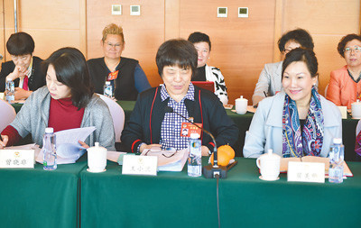More and more women are participating in political affairs in China. (Photo by Ren Jianghua from People's Daily