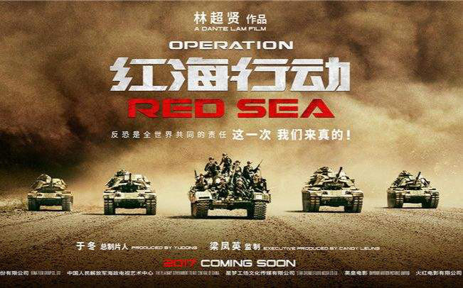 """Poster of film """"Operation Red Sea"""" (File photo)"""