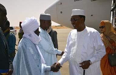Tchad : Idriss Déby est arrivé à Abéché