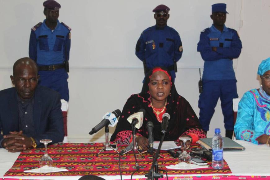 Mariam Djimet Ibet, Maire de la commune de N'Djamena. Photo : Alwihda Info