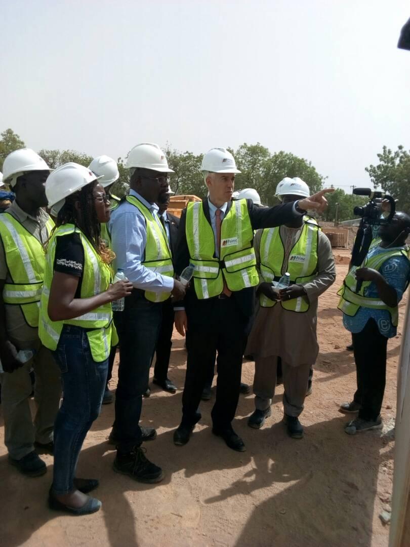 Cameroun:L'ambassadeur des Etats-Unis dans les chantiers de Prime Potomac