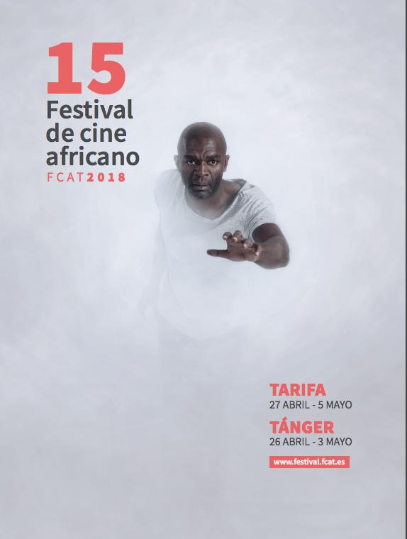 L'affiche officielle de l'édition 2018 du FCAT, avec l'acteur Emilio Buale.