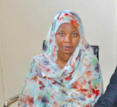 La présidente de NIRVANA, AMALKHER Djibrine. Alwihda Info