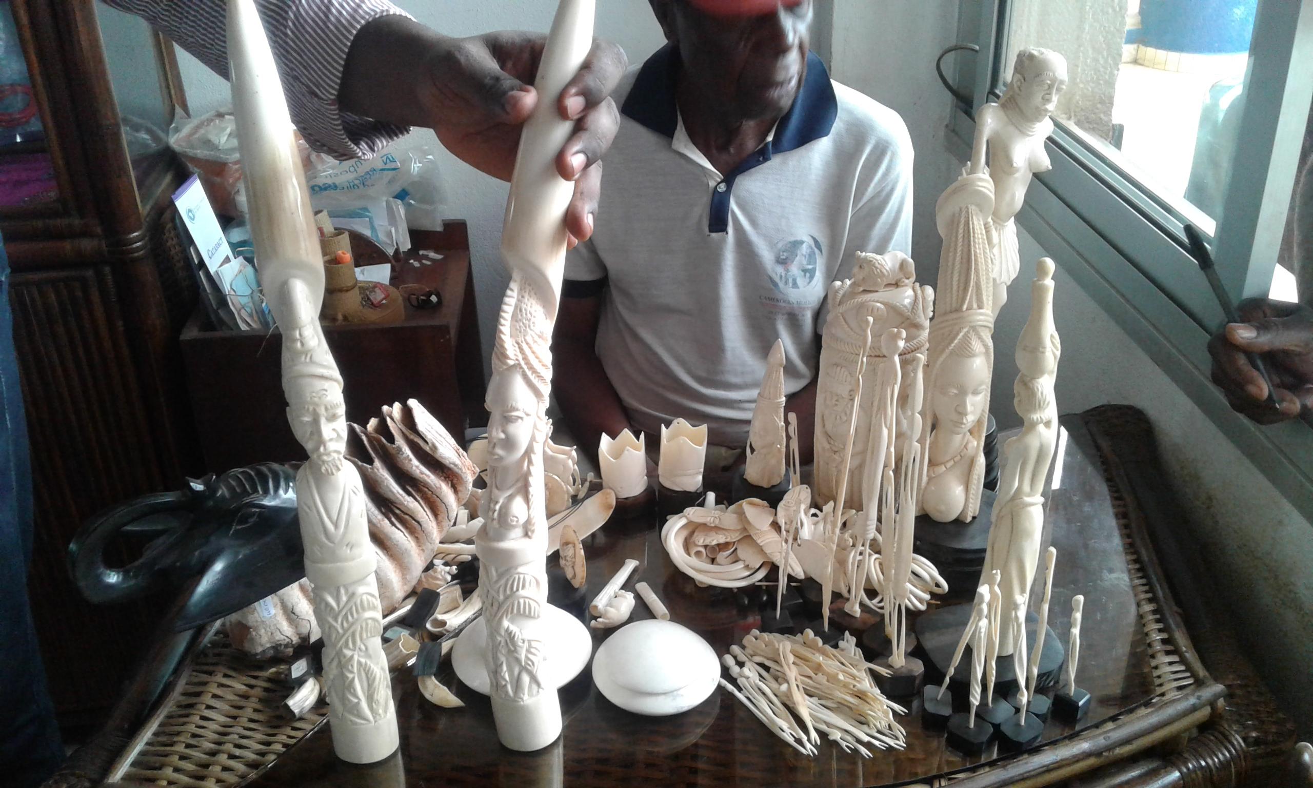 Les enquêtes  ont démontré que les Chinois sont généralement les principaux acheteurs d'ivoire de cette boutique.