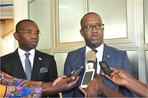 Les Directeurs Généraux de NSIA et OGAR. Crédits photo : DR