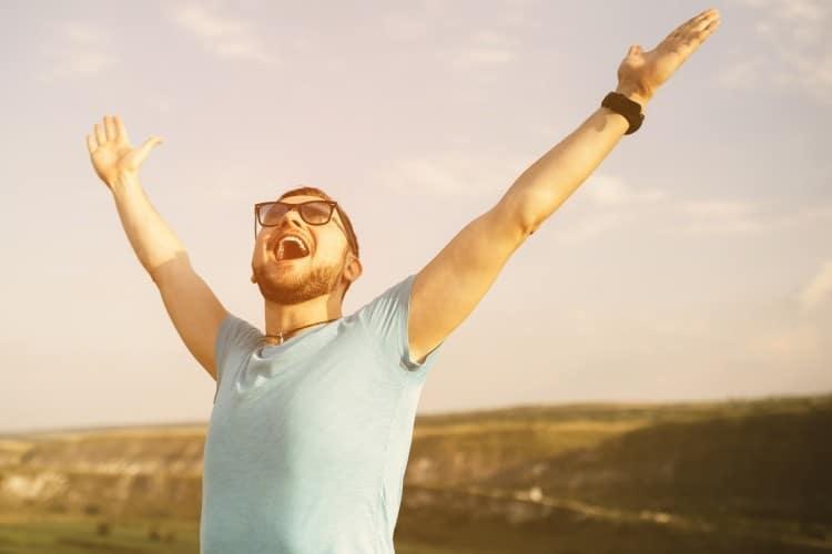 Droit vers le bonheur et la réussite
