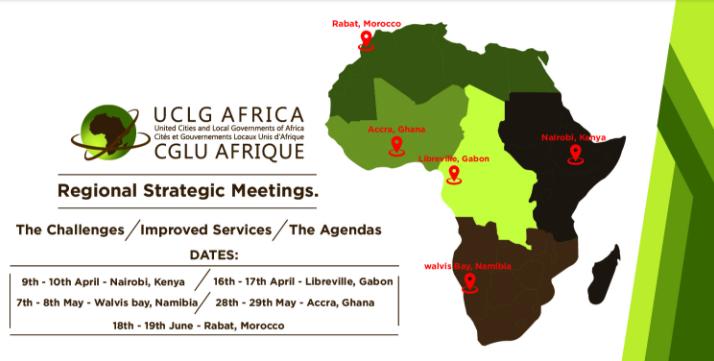 La région Afrique Centrale prête pour le Sommet Africités 2018