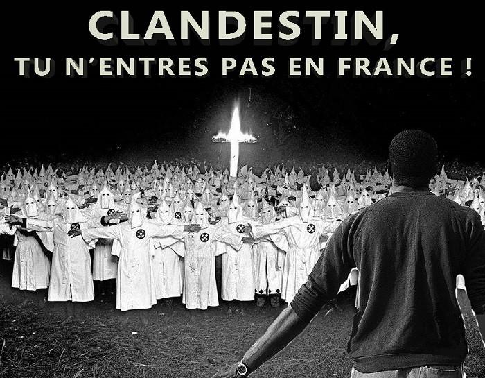 Un nouveau Ku Klux Klan traque les migrants africains dans les Hautes-Alpes françaises
