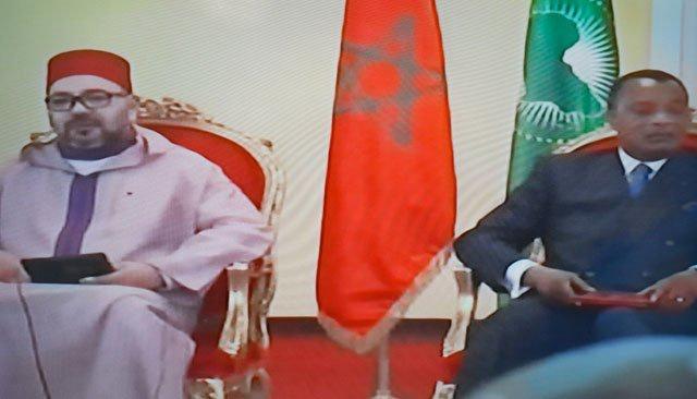Intenses activités du Roi Mohammed VI à Brazzaville