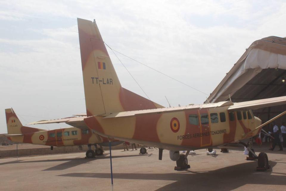 Les Etats-Unis octroient deux avions de reconnaissance CESSNA au Tchad. Alwihda Info