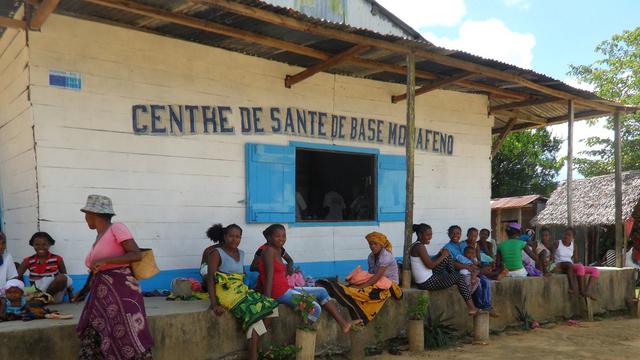 Un centre de santé à Madagascar. Crédits photo : DR